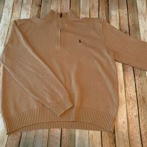 Polo Ralph Lauren knit quarter zip sweater